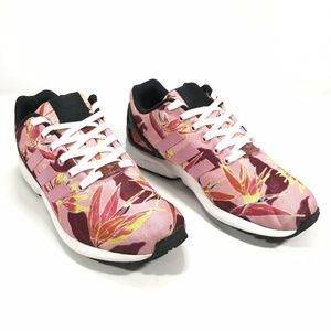 Adidas Torsion ZX Flux Floral Running Shoes